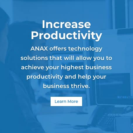 ANAX TECH Increase productivity