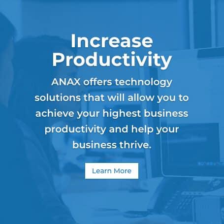 ANAX TECH Increase productivity