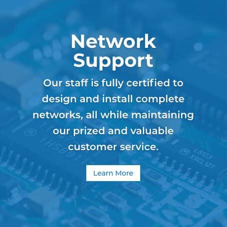 ANAX TECH network support button